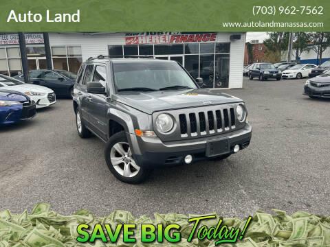 2011 Jeep Patriot for sale at Auto Land in Manassas VA
