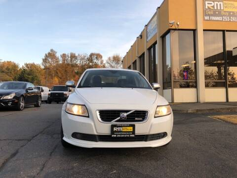 2009 Volvo S40 for sale at Royal Motors Inc in Kent WA