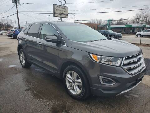 2017 Ford Edge for sale at Greenville Auto Sales in Warwick RI
