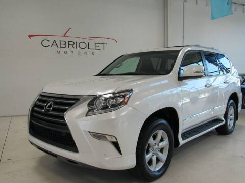 2017 Lexus GX 460 for sale at Cabriolet Motors in Morrisville NC