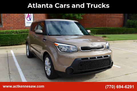 2015 Kia Soul for sale at Atlanta Cars and Trucks in Kennesaw GA