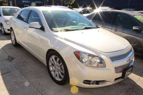 2010 Chevrolet Malibu for sale at FJ Auto Sales in North Hollywood CA