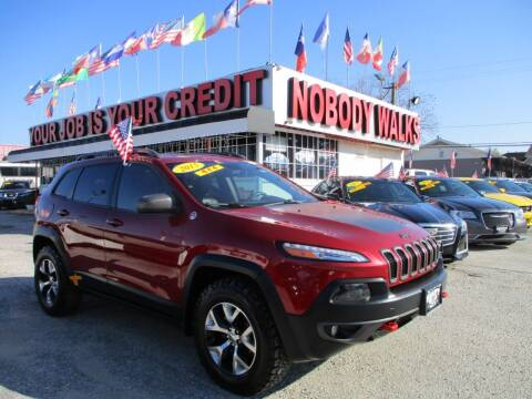 2015 Jeep Cherokee for sale at Giant Auto Mart 2 in Houston TX