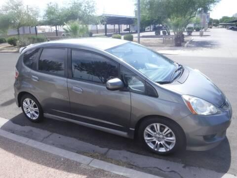 2011 Honda Fit for sale at J & E Auto Sales in Phoenix AZ