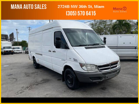 2005 Dodge Sprinter Cargo for sale at MANA AUTO SALES in Miami FL