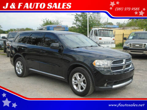 2013 Dodge Durango for sale at J & F AUTO SALES in Houston TX