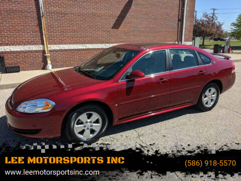 2009 Chevrolet Impala for sale at LEE MOTORSPORTS INC in Mount Clemens MI