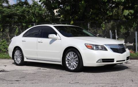 2011 Acura RL for sale at No 1 Auto Sales in Hollywood FL
