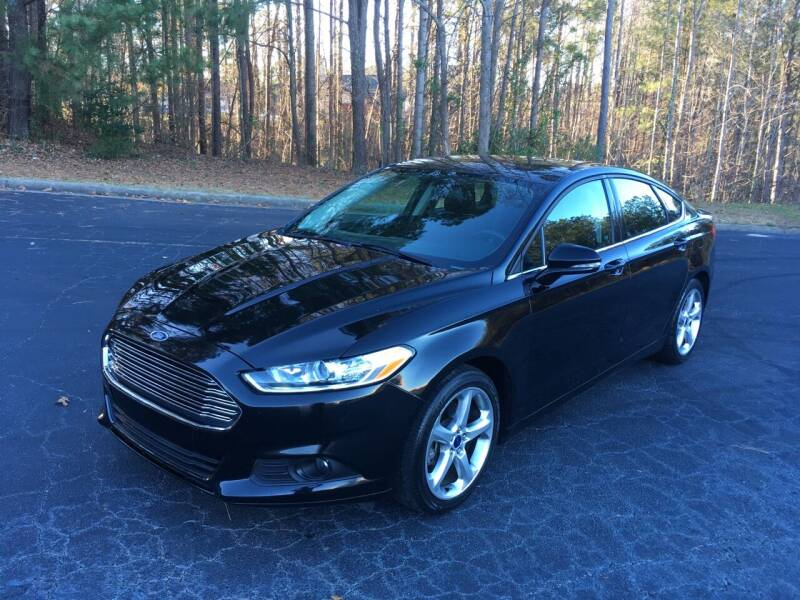 2016 Ford Fusion for sale at Legacy Motor Sales in Norcross GA