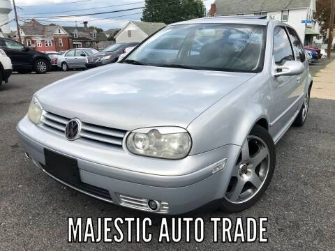 2000 Volkswagen GTI for sale at Majestic Auto Trade in Easton PA