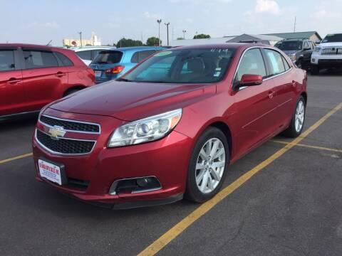 2013 Chevrolet Malibu for sale at De Anda Auto Sales in South Sioux City NE