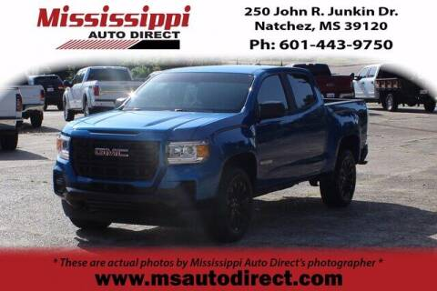 2021 GMC Canyon for sale at Auto Group South - Mississippi Auto Direct in Natchez MS