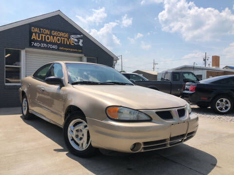 2003 Pontiac Grand Am for sale at Dalton George Automotive in Marietta OH