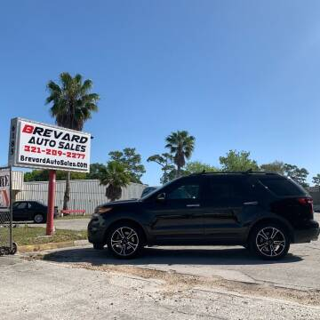 2013 Ford Explorer for sale at Brevard Auto Sales in Palm Bay FL