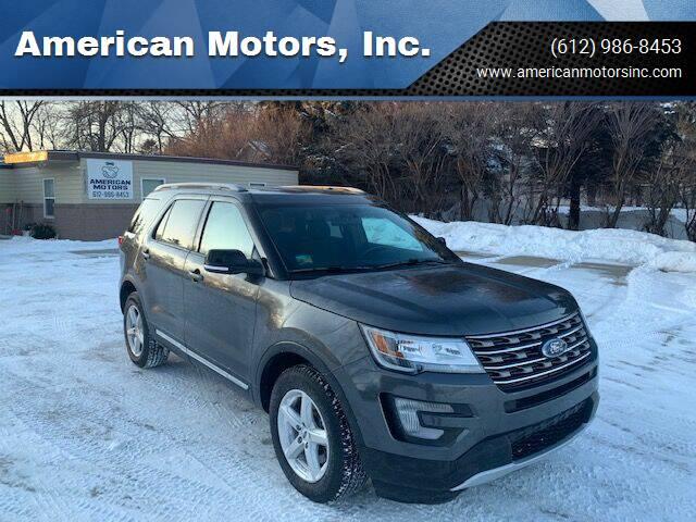 2017 Ford Explorer for sale at American Motors, Inc. in Farmington MN