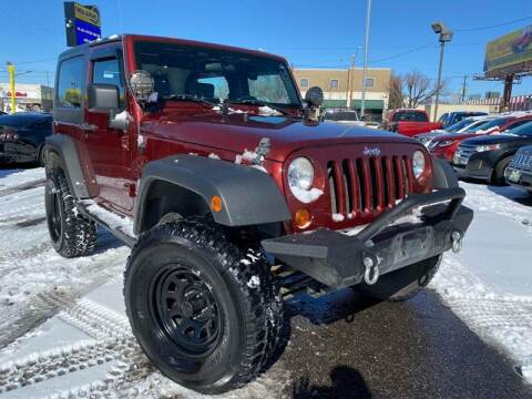 2007 Jeep Wrangler for sale at New Wave Auto Brokers & Sales in Denver CO