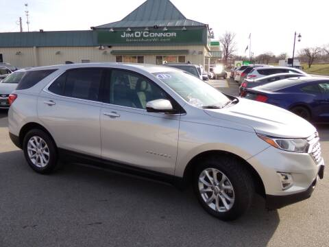 2018 Chevrolet Equinox for sale at Jim O'Connor Select Auto in Oconomowoc WI