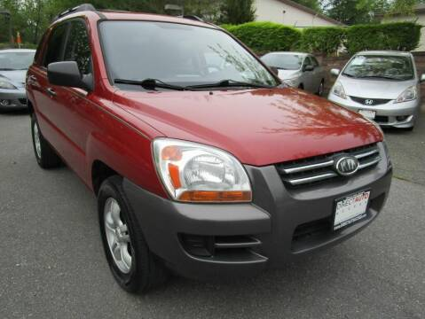2008 Kia Sportage for sale at Direct Auto Access in Germantown MD