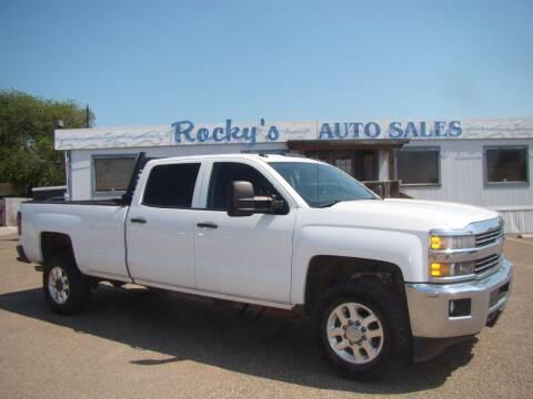 2015 Chevrolet Silverado 2500HD for sale at Rocky's Auto Sales in Corpus Christi TX