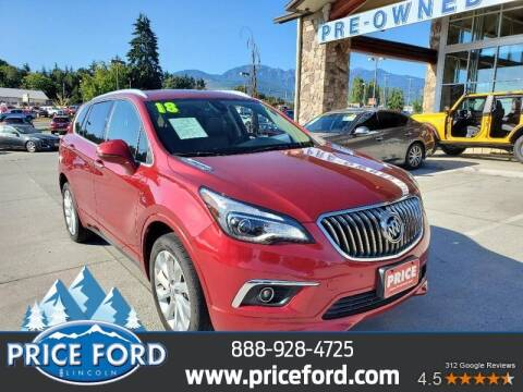 2018 Buick Envision for sale at Price Ford Lincoln in Port Angeles WA