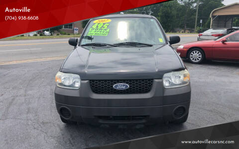 2007 Ford Escape for sale at Autoville in Kannapolis NC