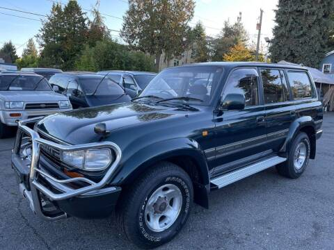 1992 Toyota Land Cruiser for sale at JDM Car & Motorcycle LLC in Seattle WA