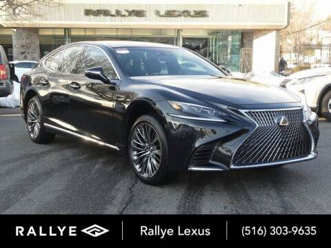 2018 Lexus LS 500 for sale at RALLYE LEXUS in Glen Cove NY