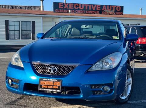 2008 Toyota Camry Solara for sale at Executive Auto in Winchester VA