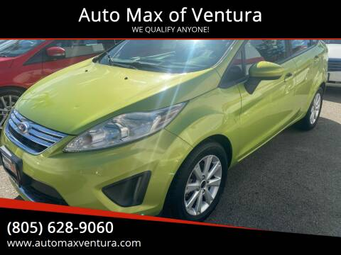 2011 Ford Fiesta for sale at Auto Max of Ventura in Ventura CA