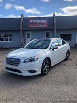 2015 Subaru Legacy for sale at Stephen Motor Sales LLC in Caldwell OH