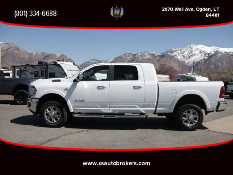 2019 RAM Ram Pickup 2500 for sale at S S Auto Brokers in Ogden UT