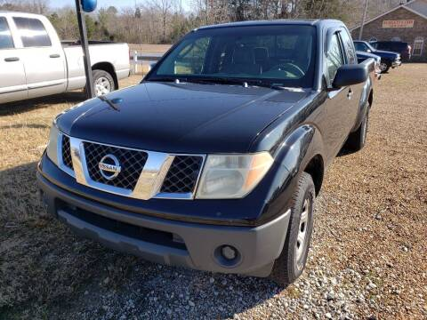 2007 Nissan Frontier for sale at Scarletts Cars in Camden TN