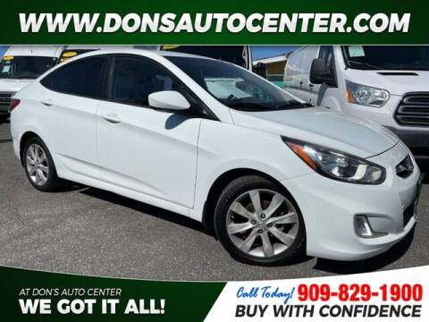 2013 Hyundai Accent for sale at Dons Auto Center in Fontana CA