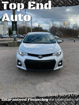 2015 Toyota Corolla for sale at Top End Auto in North Atteboro MA