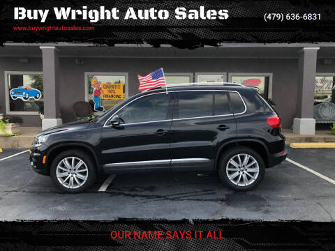 2015 Volkswagen Tiguan for sale at Buy Wright Auto Sales in Rogers AR