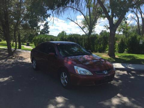 2005 Honda Accord for sale at QUEST MOTORS in Englewood CO
