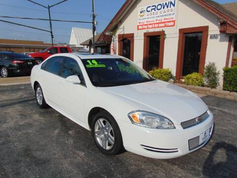 2014 Chevrolet Impala Limited for sale at Crown Used Cars in Oklahoma City OK
