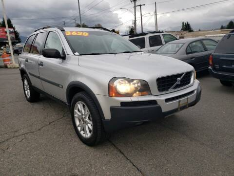 2005 Volvo XC90 for sale at Low Auto Sales in Sedro Woolley WA