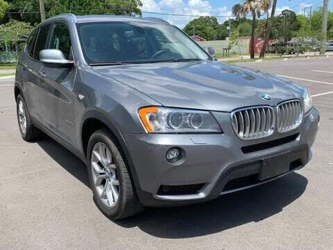 2012 BMW X3 for sale at Consumer Auto Credit in Tampa FL