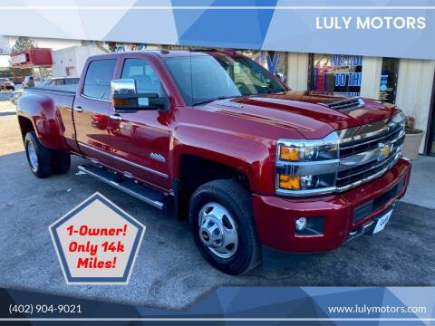 2019 Chevrolet Silverado 3500HD for sale at Luly Motors in Lincoln NE
