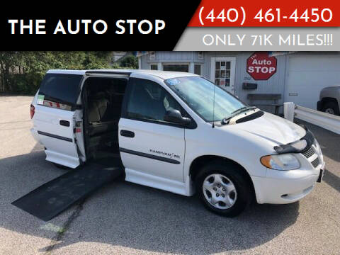 2002 Dodge Grand Caravan for sale at The Auto Stop in Painesville OH