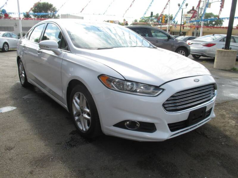 2015 Ford Fusion for sale at EZ Finance Auto in Calumet City IL