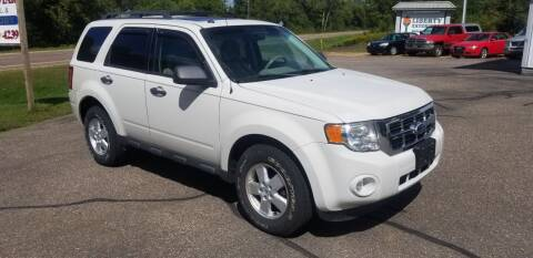 2010 Ford Escape for sale at Five Star Sales in Mondovi WI