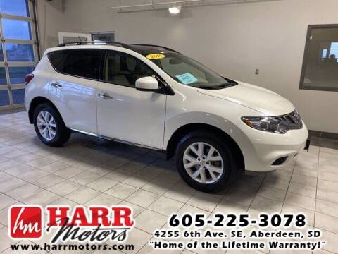 2014 Nissan Murano for sale at Harr's Redfield Ford in Redfield SD