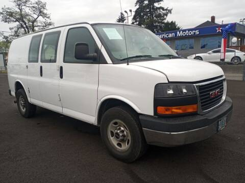 2015 GMC Savana Cargo for sale at All American Motors in Tacoma WA