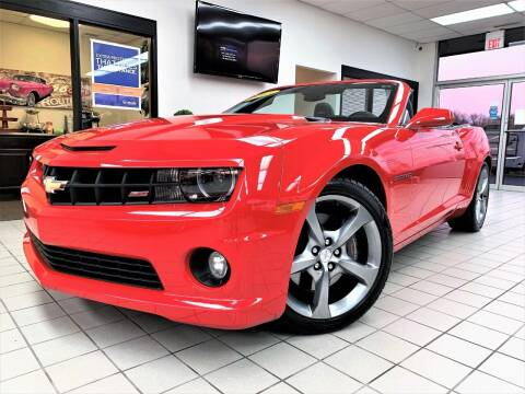 2013 Chevrolet Camaro for sale at SAINT CHARLES MOTORCARS in Saint Charles IL