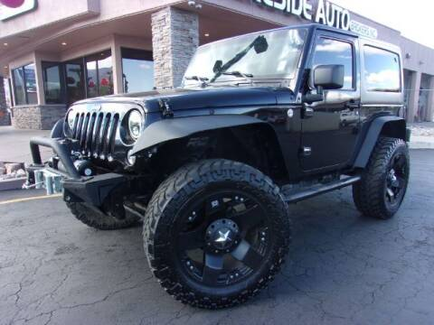 2014 Jeep Wrangler for sale at Lakeside Auto Brokers Inc. in Colorado Springs CO