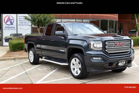 2017 GMC Sierra 1500 for sale at Atlanta Cars and Trucks in Kennesaw GA