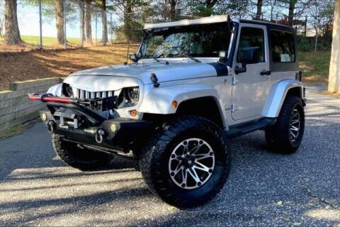 2009 Jeep Wrangler for sale at TRUST AUTO in Sykesville MD
