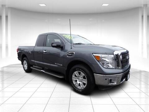 2017 Nissan Titan for sale at Sandy Motors Inc in Coventry RI